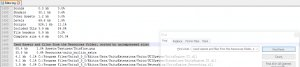 Unity Search Editor Log Filesize