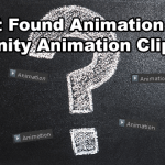 Unity Animation State Not Found