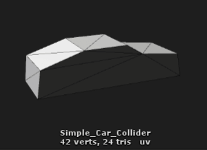 Unity Very Simple Custom Collider