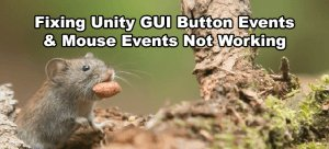 Unity GUI Button and Mouse Events Thumbnail